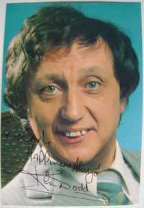 Ken Dodd autograph