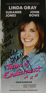 Linda Gray autograph