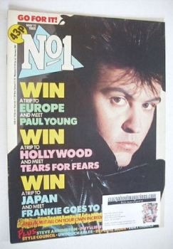 No 1 Magazine - Paul Young cover (11 May 1985)