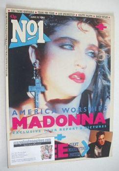No 1 magazine - Madonna cover (22 June 1985)