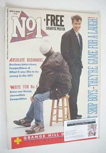 <!--1986-04-05-->No 1 Magazine - Pet Shop Boys cover (5 April 1986)