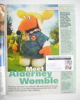 The Wombles Alderney toy knitting pattern (designed by Alan Dart)