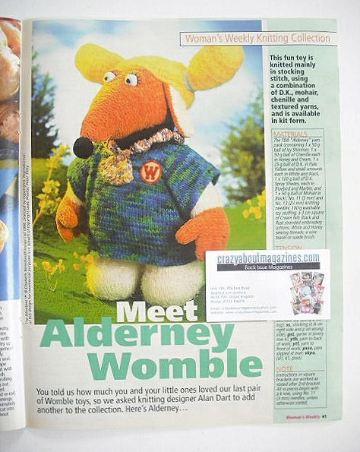 The Wombles Alderney toy knitting pattern (designed by Alan Dart)