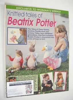 Beatrix Potter Peter Rabbit, Jemima Puddle-duck, Jeremy Fisher knitting patterns (by Alan Dart)
