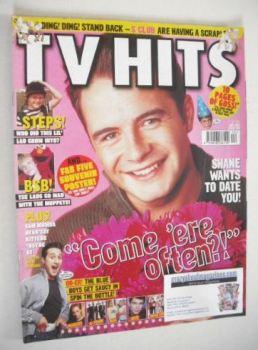 TV Hits magazine - December 2001 - Shane Filan cover