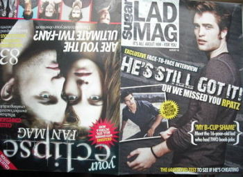 Lad magazine - Robert Pattinson cover (August 2010)