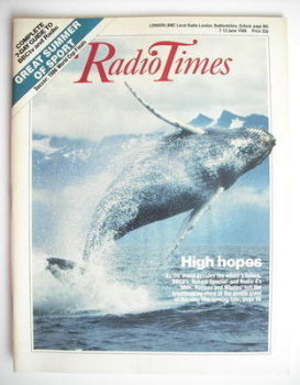Radio Times magazine - High Hopes cover (7-13 June 1986)
