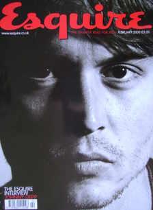 <!--2000-02-->Esquire magazine - Johnny Depp cover (February 2000)