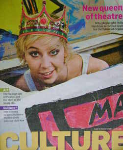 <!--2009-04-12-->Culture magazine - Polly Stenham cover (12 April 2009)
