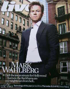 <!--2009-12-27-->Live magazine - Mark Wahlberg cover (27 December 2009)