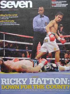Seven magazine - Ricky Hatton and Manny Pacquiao cover (25 April 2010)