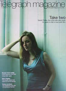 <!--2007-04-14-->Telegraph magazine - Sarah Polley cover (14 April 2007)