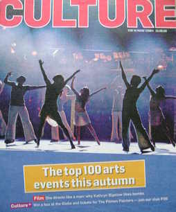 <!--2009-08-16-->Culture magazine - The Top 100 Arts Events This Autumn cov