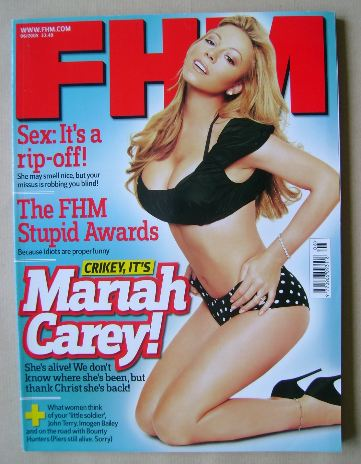 <!--2005-06-->FHM magazine - Mariah Carey cover (June 2005)