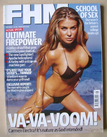 <!--2004-05-->FHM magazine - Carmen Electra cover (May 2004)
