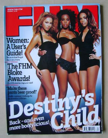 <!--2005-02-->FHM magazine - Destiny's Child cover (February 2005)