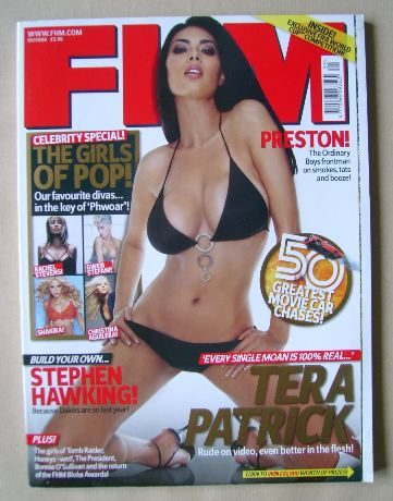 <!--2006-05-->FHM magazine - Tera Patrick cover (May 2006)