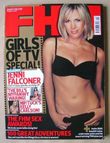 <!--2005-10-->FHM magazine - Jenni Falconer cover (October 2005)