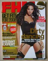 <!--2008-02-->FHM magazine - Alesha Dixon cover (February 2008)
