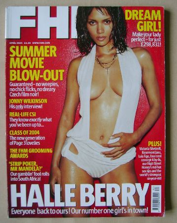 <!--2004-04-->FHM magazine - Halle Berry cover (April 2004)