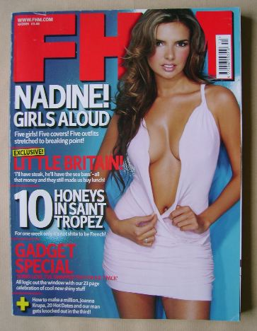 <!--2005-12-->FHM magazine - Nadine Coyle cover (December 2005)