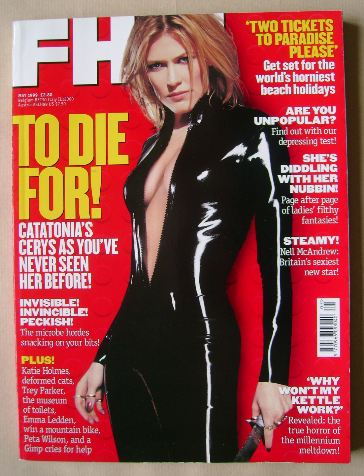 <!--1999-05-->FHM magazine - Cerys Matthews cover (May 1999)