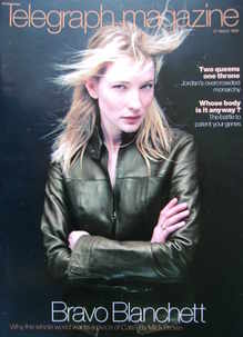 <!--1999-03-27-->Telegraph magazine - Cate Blanchett cover (27 March 1999)