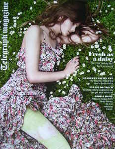 <!--2010-05-29-->Telegraph magazine - Fresh As A Daisy cover (29 May 2010)