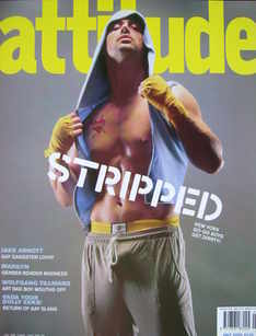 <!--2003-07-->Attitude magazine - Stripped cover (July 2003)