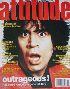 <!--1994-07-->Attitude magazine - Pedro Almodovar cover (July 1994)