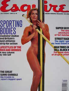 <!--1996-07-->Esquire magazine - Kate Staples cover (July/August 1996)