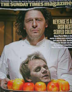 <!--2007-08-05-->The Sunday Times magazine - Marco Pierre White cover (5 Au