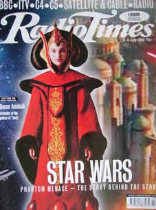 <!--1999-07-03-->Radio Times magazine - Queen Amidala (Star Wars Phantom Me