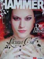 <!--2006-04-->Metal Hammer magazine - Lacuna Coil cover (April 2006)