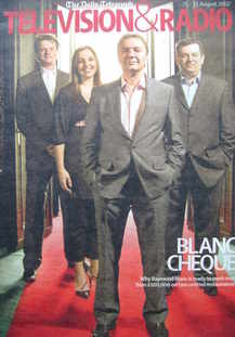 Television&Radio magazine - Raymond Blanc cover (25 August 2007)