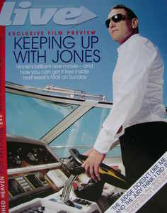Live magazine - Vinnie Jones cover (9 September 2007)