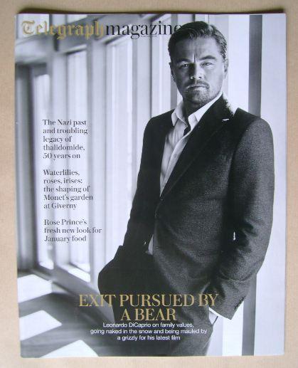 <!--2016-01-09-->Telegraph magazine - Leonardo DiCaprio cover (9 January 20
