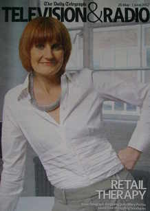 Television&Radio magazine - Mary Portas cover (26 May 2007)