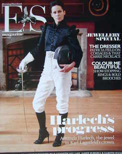 <!--2008-06-06-->Evening Standard magazine - Amanda Harlech cover (6 June 2