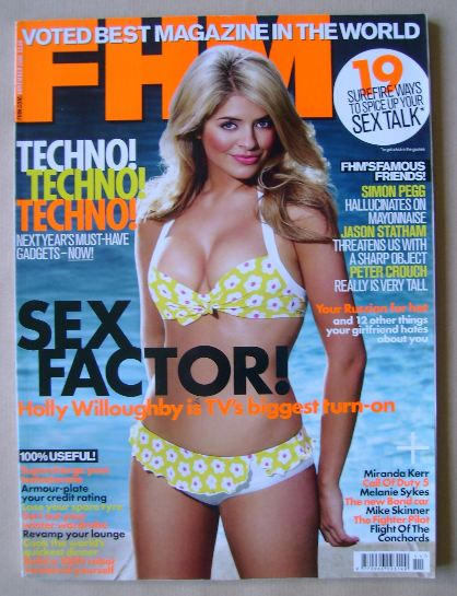 <!--2008-11-->FHM magazine - Holly Willoughby cover (November 2008)