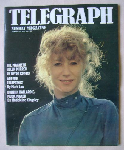 <!--1981-05-10-->The Sunday Telegraph magazine - Helen Mirren cover (10 May