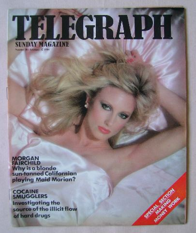 <!--1984-02-12-->The Sunday Telegraph magazine - Morgan Fairchild cover (12