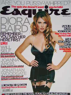 <!--2006-05-->Esquire magazine - Diora Baird cover (May 2006)