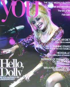 <!--2007-02-18-->You magazine - Dolly Parton cover (18 February 2007)