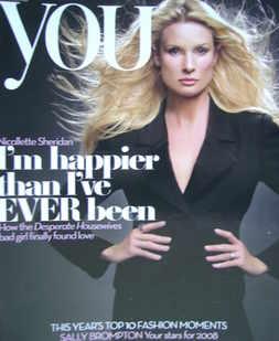 <!--2007-12-30-->You magazine - Nicollette Sheridan cover (30 December 2007