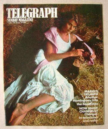<!--1984-01-29-->The Sunday Telegraph magazine - Mariel Hemingway cover (29