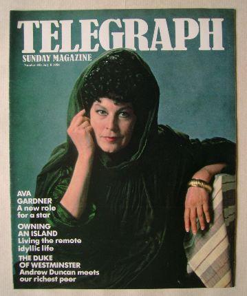 <!--1984-07-08-->The Sunday Telegraph magazine - Ava Gardner cover (8 July