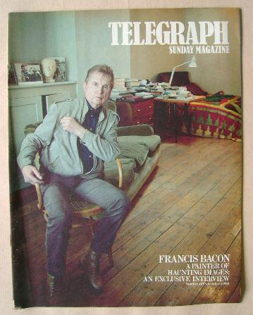 <!--1984-11-04-->The Sunday Telegraph magazine - Francis Bacon cover (4 Nov