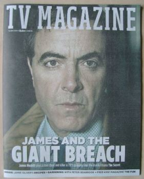 The Sun TV magazine - 23 April 2016 - James Nesbitt cover