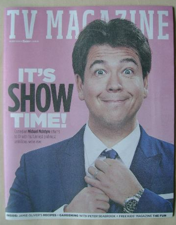 <!--2016-04-16-->The Sun TV magazine - 16 April 2016 - Michael McIntyre cov